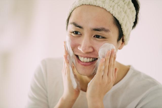 高校生清潔マナー洗顔