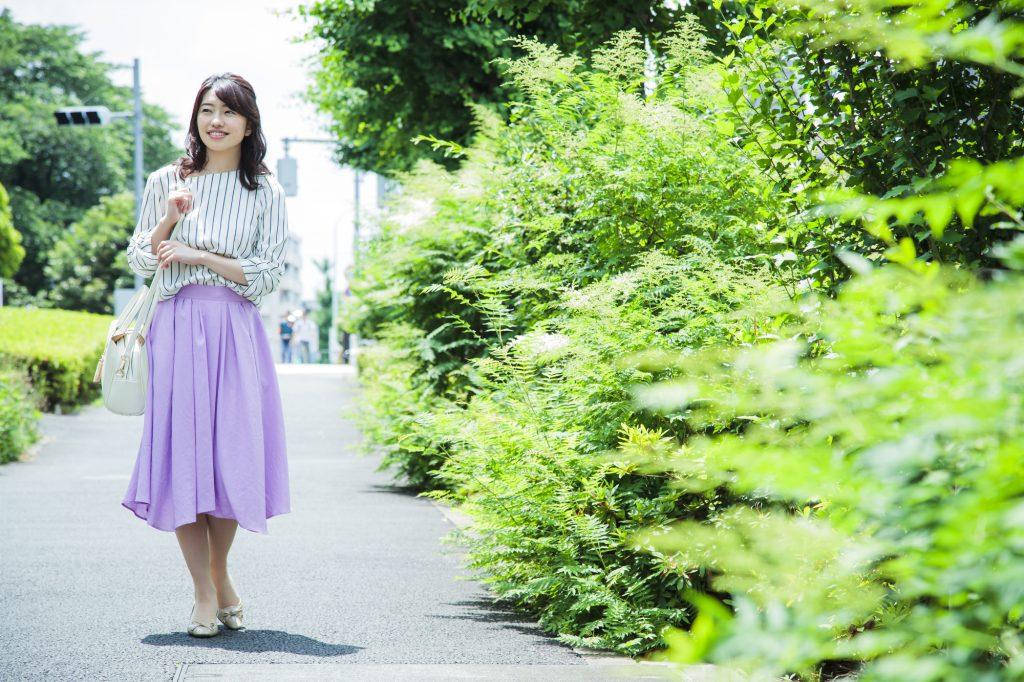 女性 道 スカート