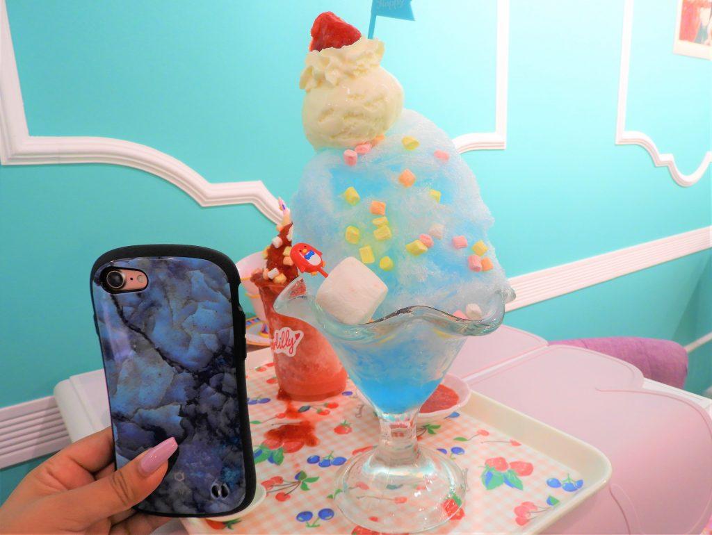 かき氷 iPhone