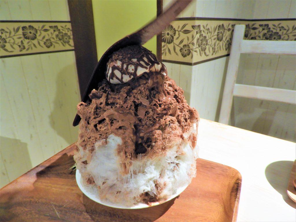 BonnelCafe かき氷 チョコ