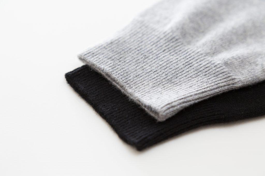 セーター 袖