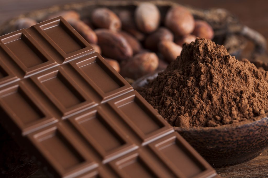 板チョコレート カカオ