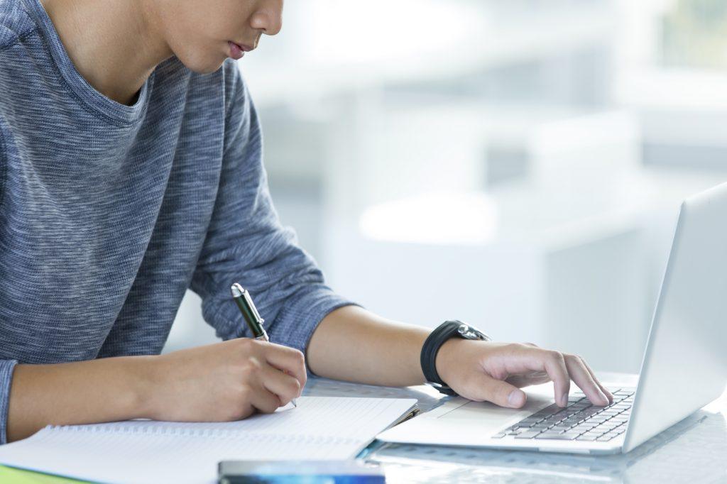 男 勉強 パソコン