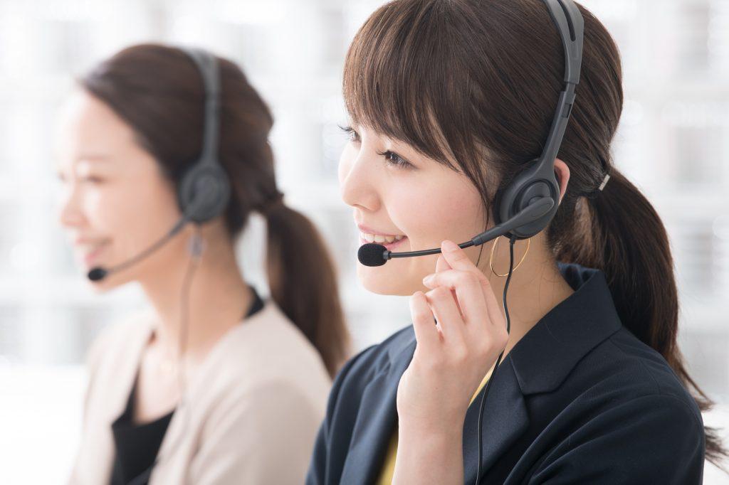 電話オペレーター 女性