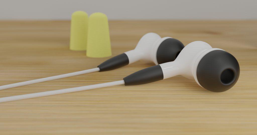 イヤホン 耳栓