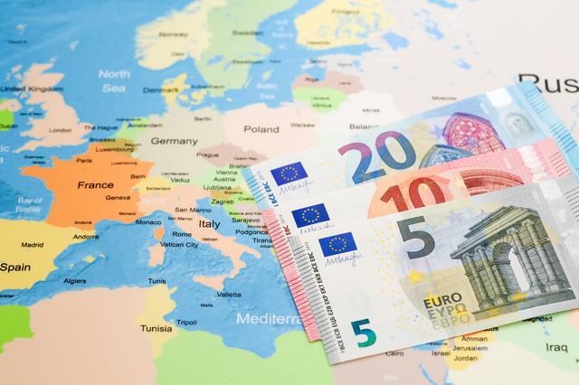 ヨーロッパ 地図 紙幣