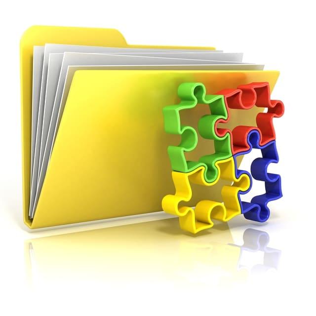 ファイル 黄色