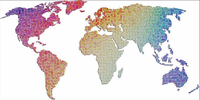 世界地図 世界中 Amazon