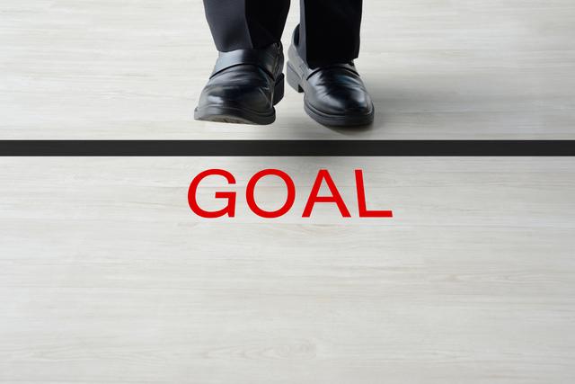 ゴール 目標 足