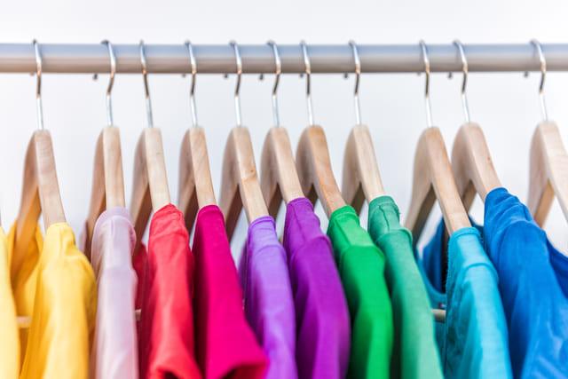 ファッション コーディネート カラー 服