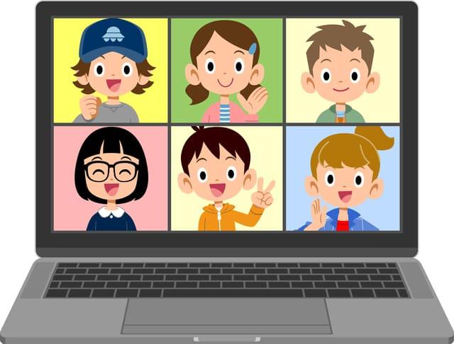 オンライン 会話 子供